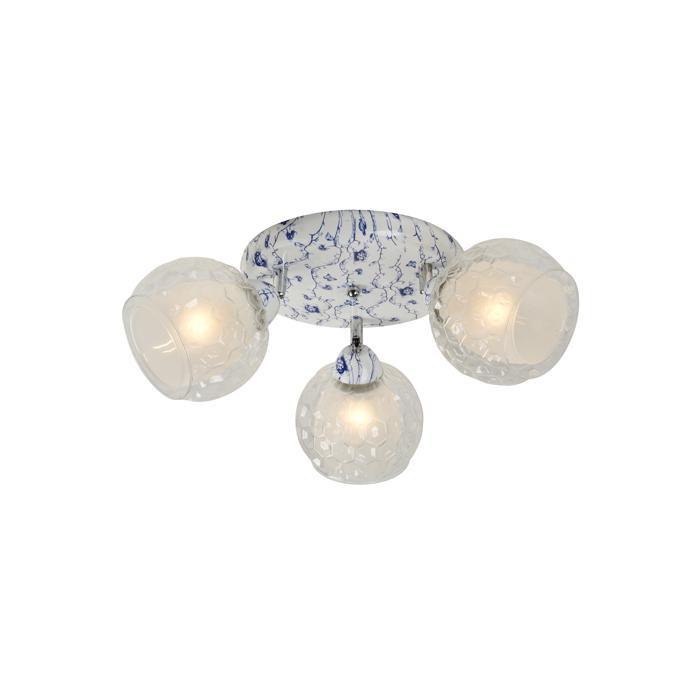 Потолочный светильник Idlamp 876/3PF-Whiteblue, голубой цена