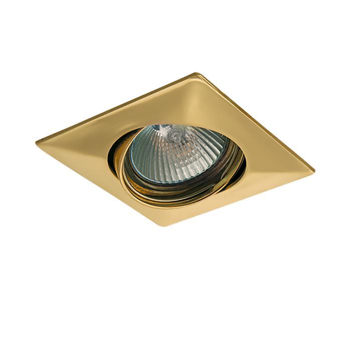 Встраиваемый светильник Lightstar 011032, золотой 1117 adj ams1117cd adj to 252