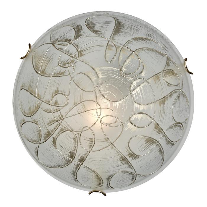 Настенно-потолочный светильник Sonex 165/K, E27, 60 Вт