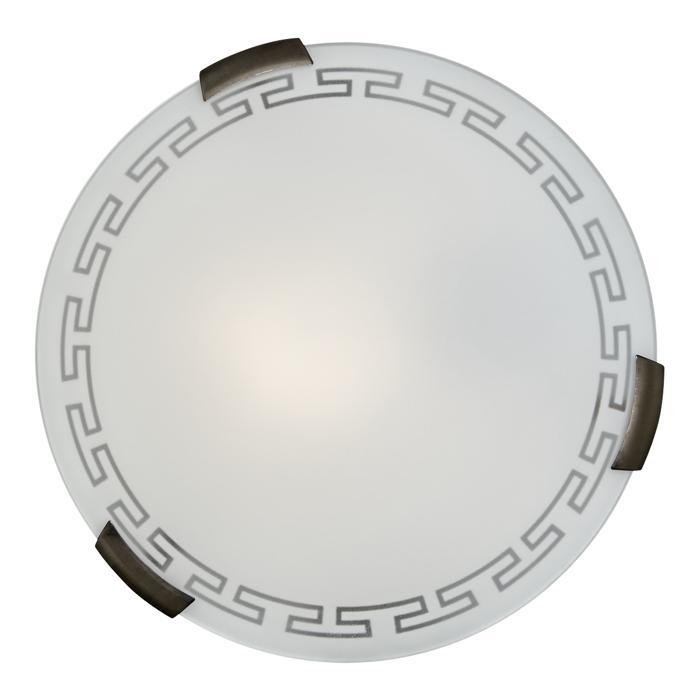 Настенно-потолочный светильник Sonex 161/K, бронза настенно потолочный светильник sonex traube 104 k