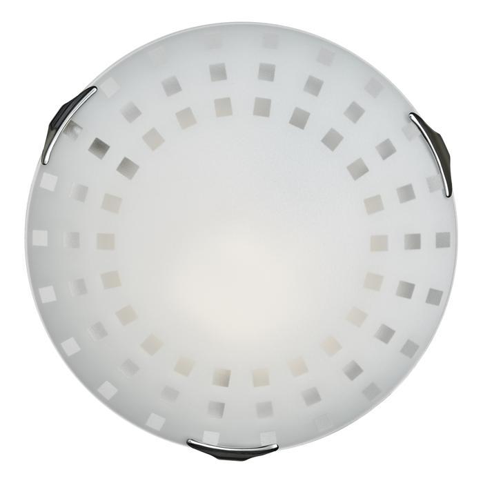 Настенно-потолочный светильник Sonex 162/K, серый металлик162/KТарелка Sonex 162/K серии Quadro White в стиле модерн оживит ваш интерьер. Размеры (Диаметр х Высота) 300х100 мм.