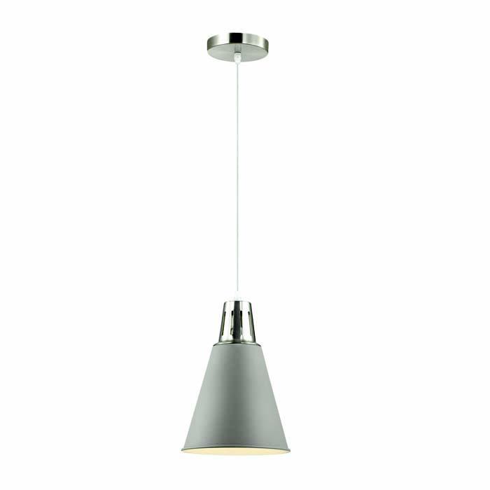 Подвесной светильник Odeon Light 3348/1, серый металлик