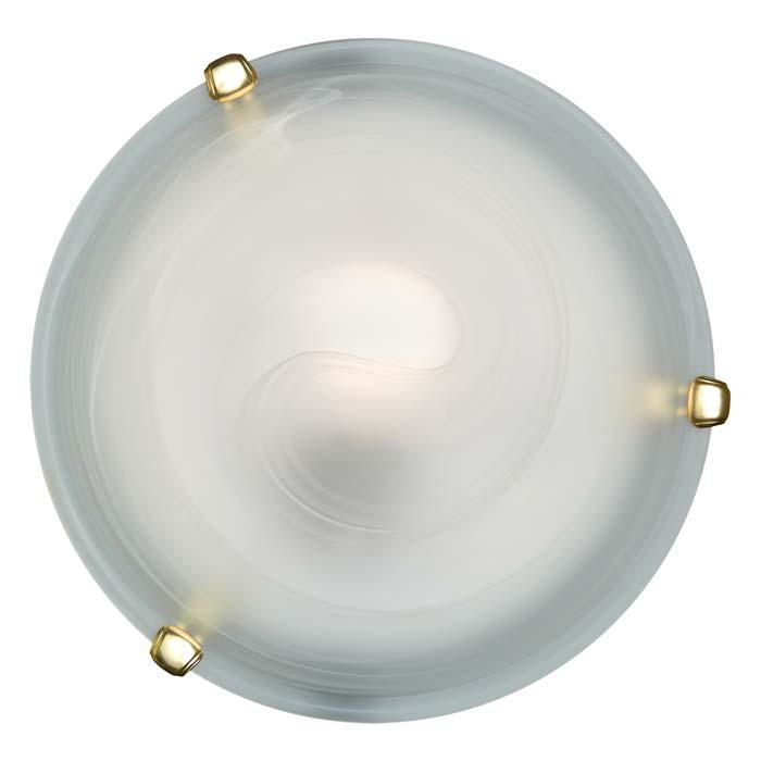 Настенно-потолочный светильник Sonex 153/K золото, золотой настенно потолочный светильник sonex traube 104 k