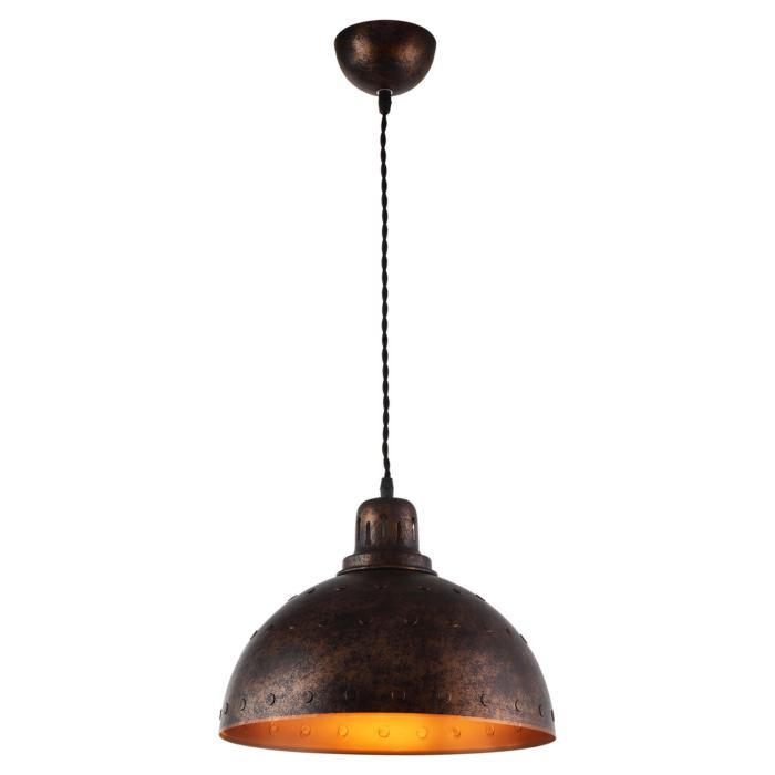 Подвесной светильник Lussole LSP-9801, коричневыйLSP-9801Подвесной светильник Lussole LSP-9801 серии Loft в современном стиле подчеркнет индивидуальность вашего интерьера.