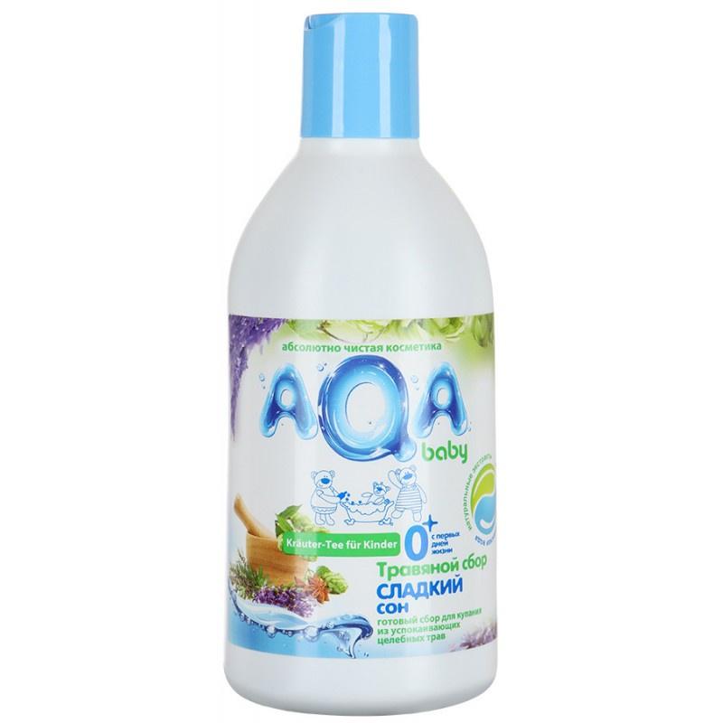 Пена для ванны AQA baby Травяной сбор для купания малышей Сладкий сон травяной сбор лапчатка белая корень сила природы 25 г
