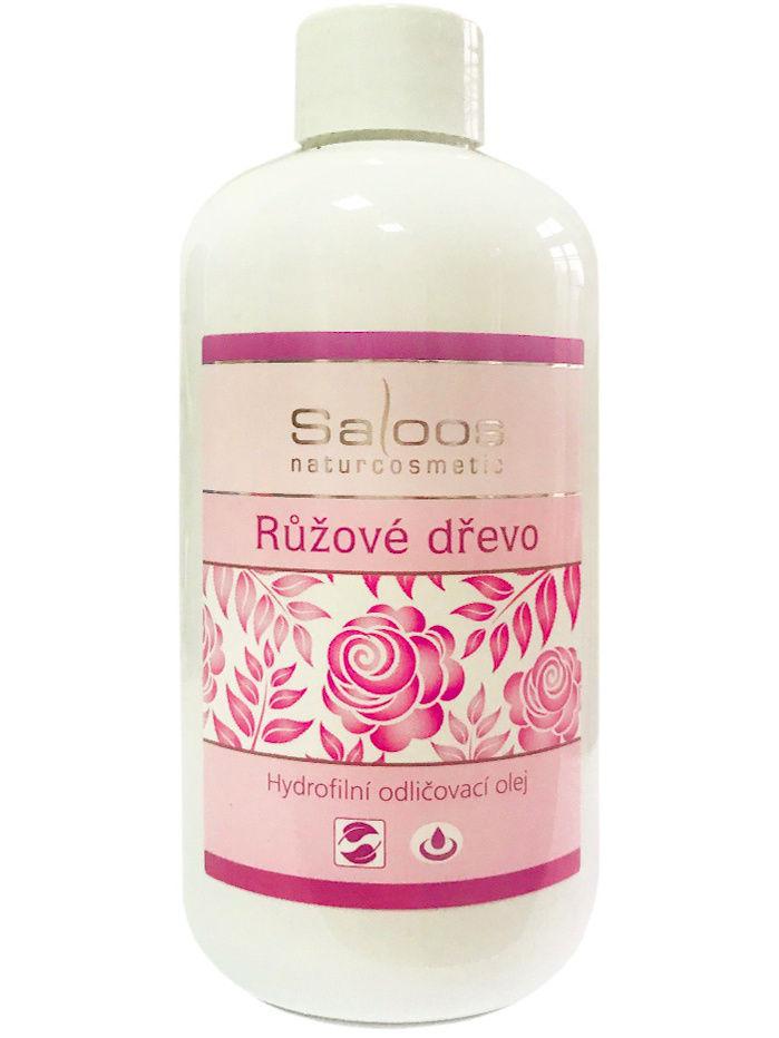 Масло косметическое Saloos Гидрофильное для лица Розовое дерево