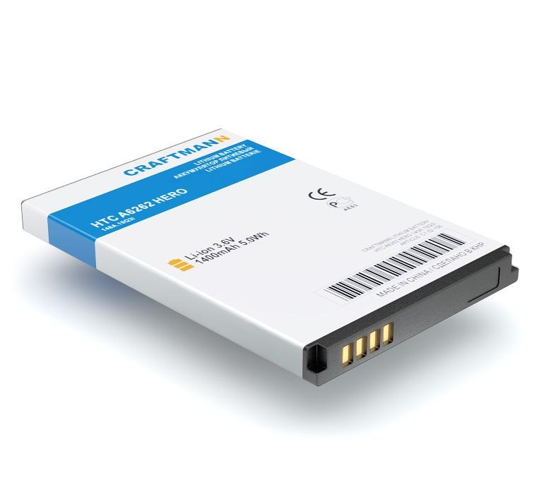 Аккумулятор для телефона Craftmann TWIN160 для HTC A6262 Hero, ADR6200VW Droid Eris htc hero a6262