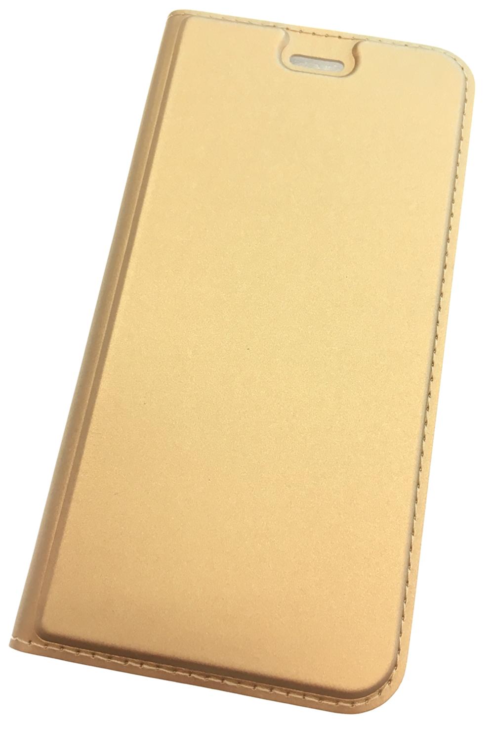 Чехол для сотового телефона Мобильная Мода Honor 6A Чехол-книжка с магнитной крышкой и подставкой, золотой