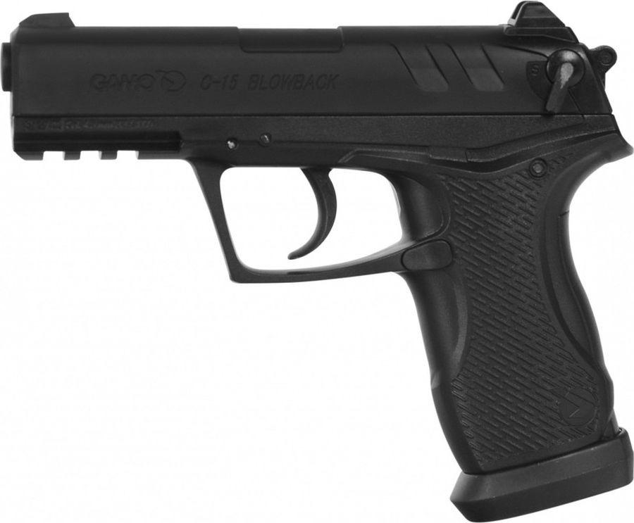 Пневматический пистолет Gamo C-15 Blowback, 6111390-P