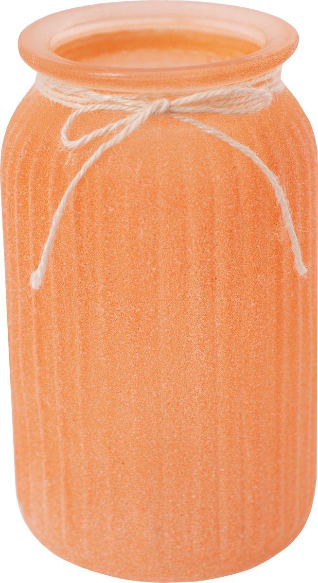 Ваза декоративная Magic Home Оранжевая, 79208, оранжевый ваза декоративная magic home объемные цветы 79859 белый