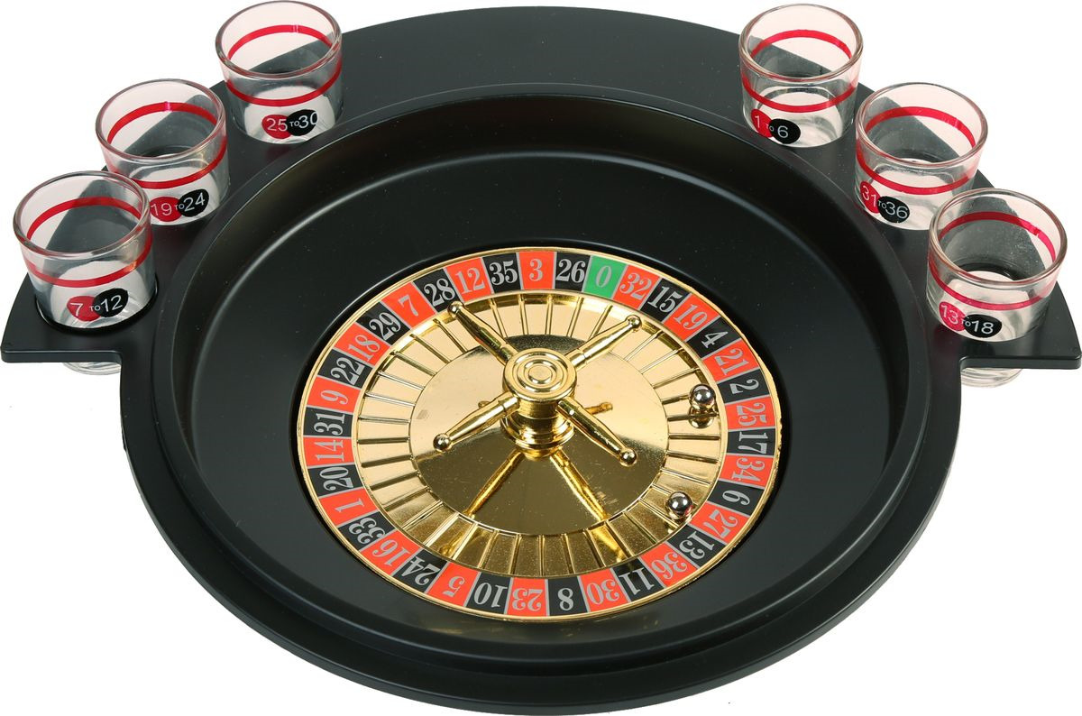 Сувенирный набор Magic Home Пьяная рулетка, 79871, 29,5 х 6,5 см игра настольная ens рулетка 30 8 см 6 стопок