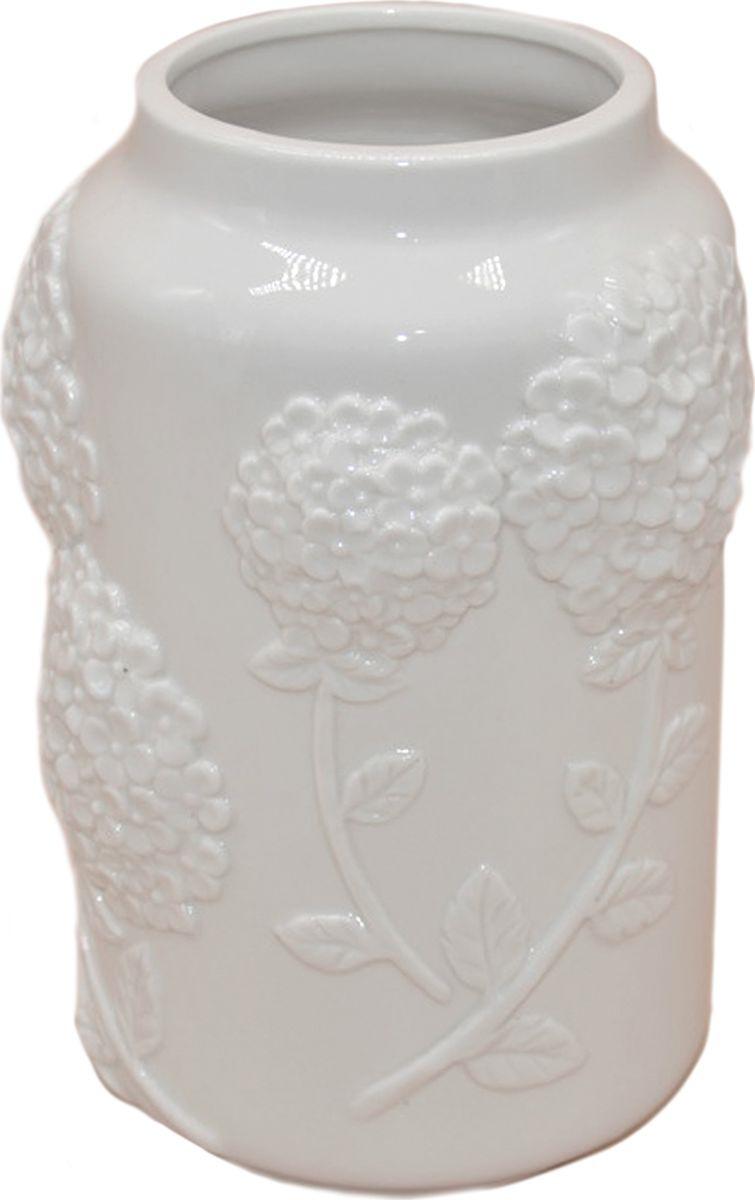Ваза декоративная Magic Home Объемные цветы, 79859, белый ваза декоративная magic home объемные цветы 79859 белый