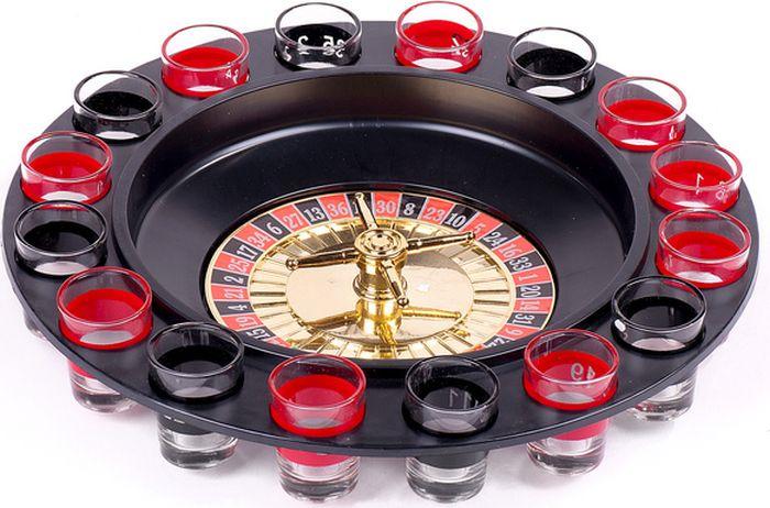 Сувенирный набор Magic Home Пьяная рулетка, 77331, 29,5 х 6,5 см игра настольная ens рулетка 30 8 см 6 стопок