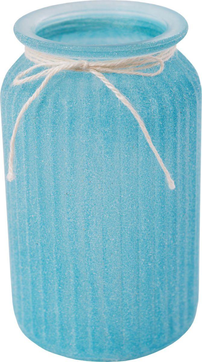 Ваза декоративная Magic Home Синяя, 79209, голубой ваза декоративная magic home объемные цветы 79859 белый