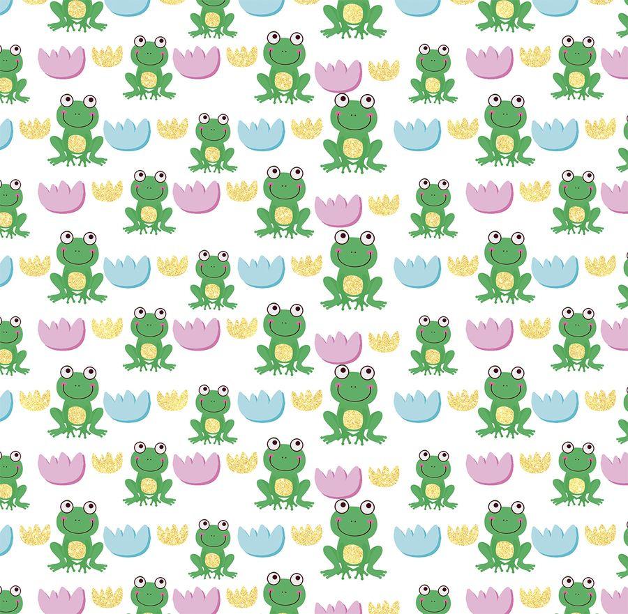 Упаковочная бумага Magic Home Зеленая лягушка, 79461, мультиколор, 100 х 70 см