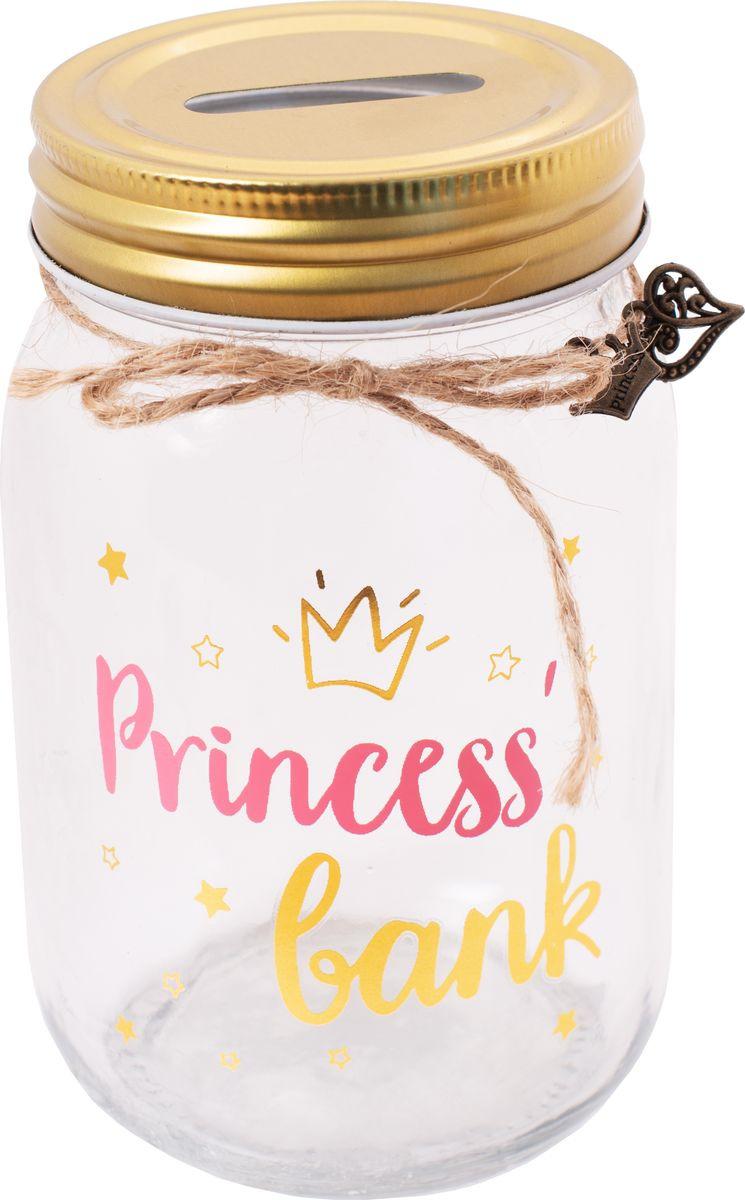 Копилка сувенирная Magic Home Банк принцессы, 79199, 7,8 х 7,8 х 12,8 см