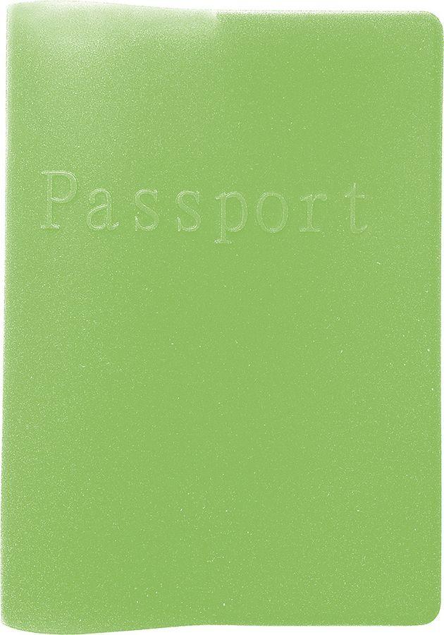 Обложка для паспорта Magic Home, 79934, зеленый, 13 х 9,3 см79934Обложка для паспорта поможет сохранить внешний вид ваших документов и защитить их от повреждений. Обложка для паспорта из силиконового полимера, 13x9,3см.