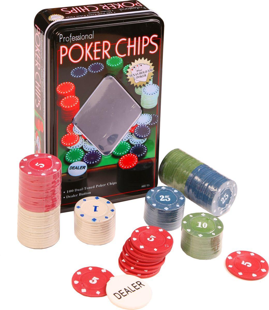 Сувенирный набор Magic Home Фишки для покера, с номиналом, 79868, 19 х 11,5 х 5 см фишки для покера с номиналом 11 5 г 25 штук