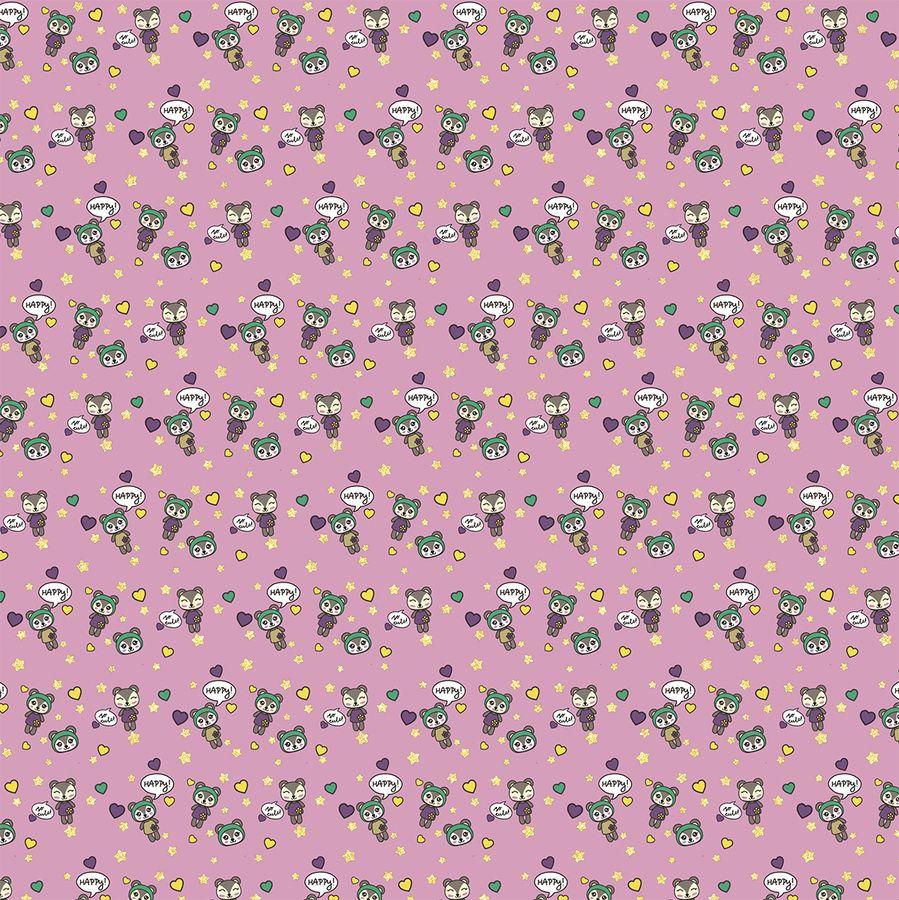 Упаковочная бумага Magic Home Цветные человечки, 79451, мультиколор, 100 х 70 см