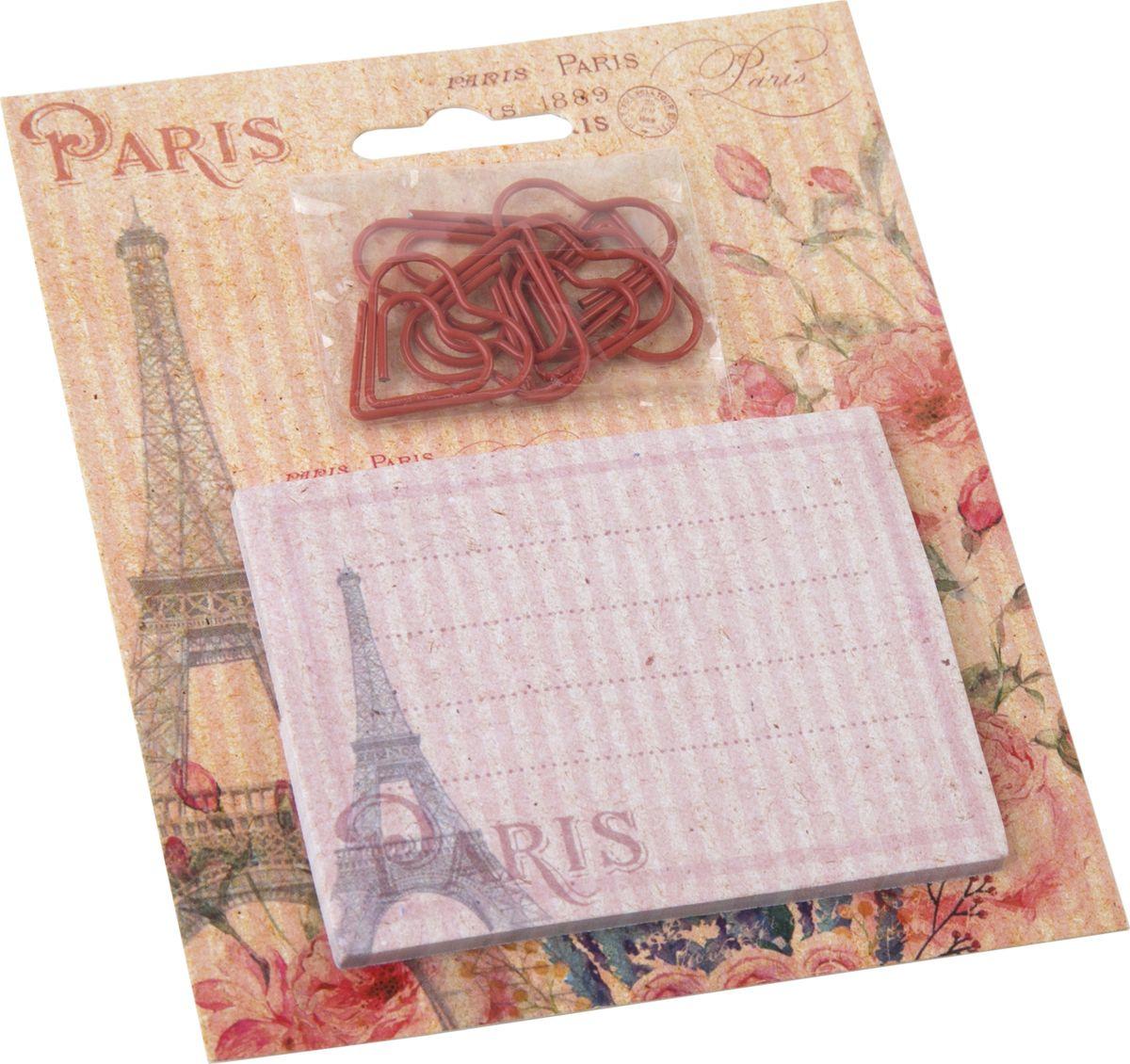 Фото - Канцелярский набор Magic Home Париж, 76728, 11 х 13 см канцелярский набор magic home птичья клетка 76727 11 х 13 см