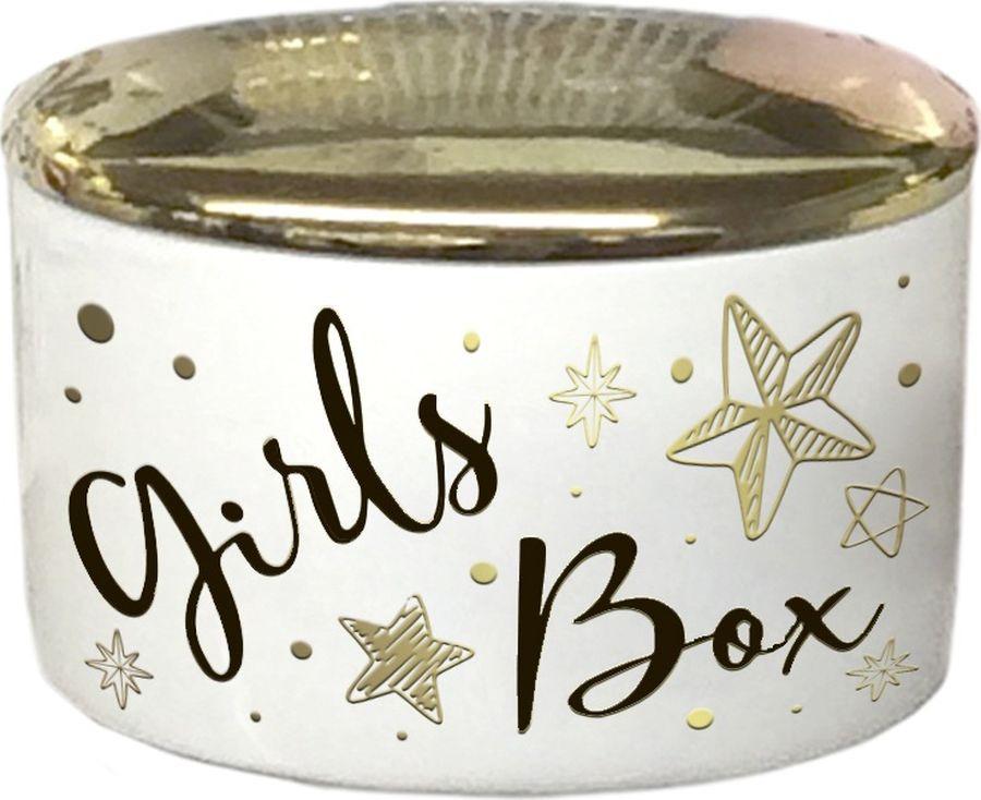 Шкатулка декоративная Magic Home Girls Box, 79917, золотой