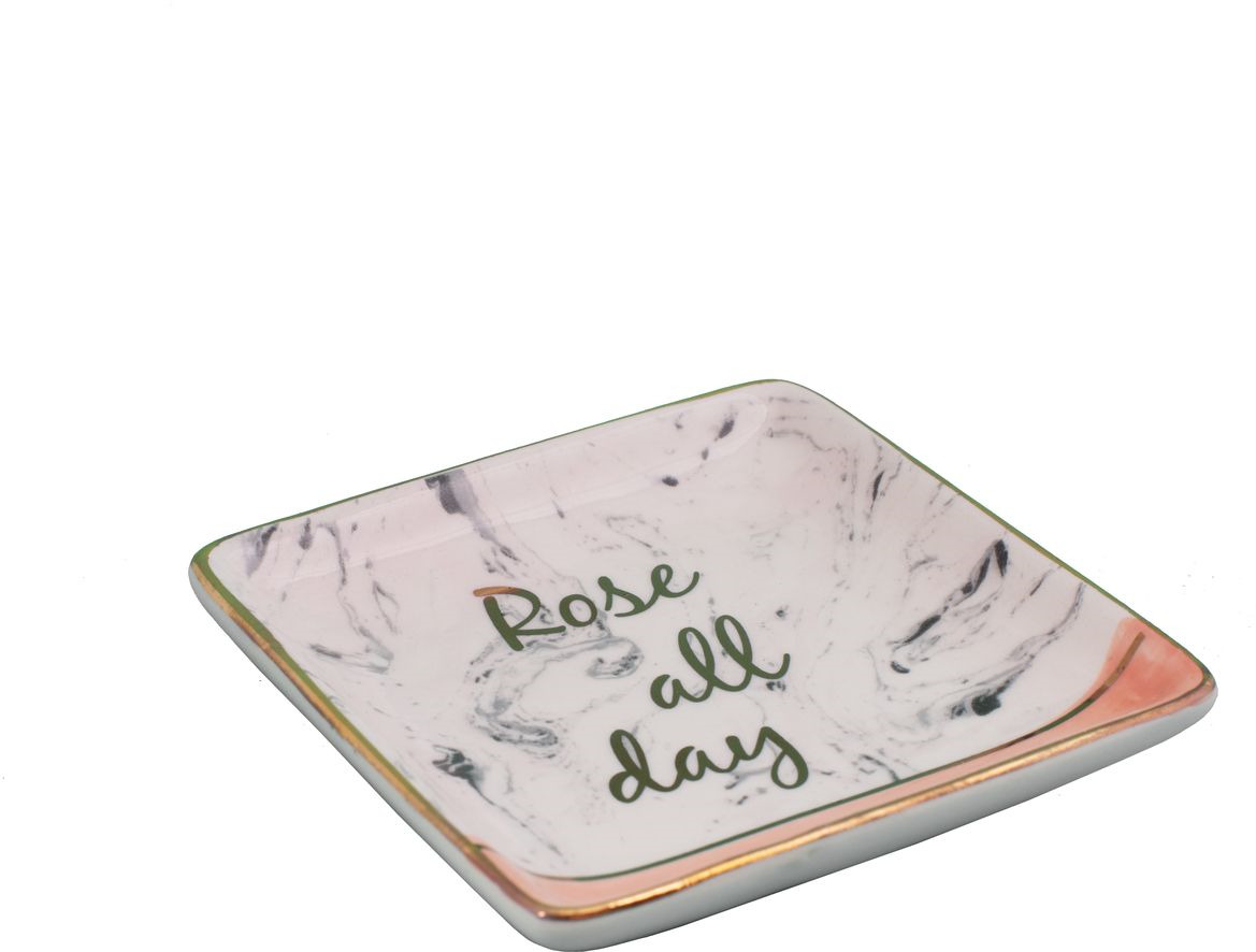 Декоративная тарелка Magic Home Розовая, розовый юбка tommy hilfiger tommy hilfiger to263ewddxt5