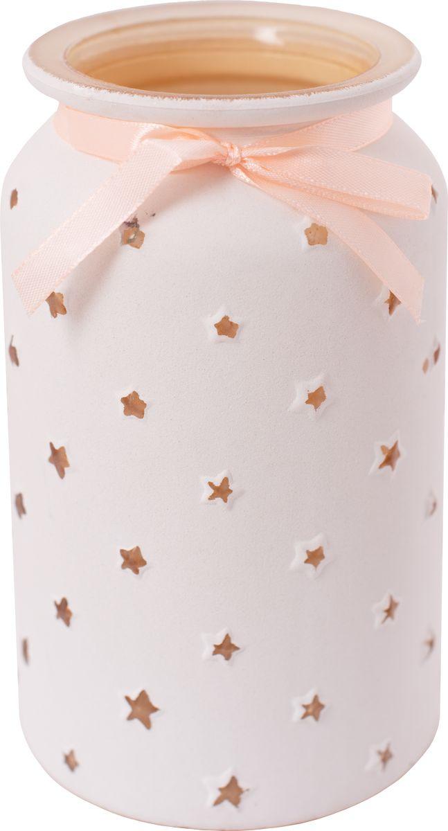 Ваза декоративная Magic Home Кремовая, 79206, белый79206Необычная стеклянна ваза станет прекрасным украшением интерьера и подчеркнет его уникальность. Ее можно преподнести в качестве практичного подарка или оригинального сувенира. Ваза Кремовая из стекла / 11х11х18,3см
