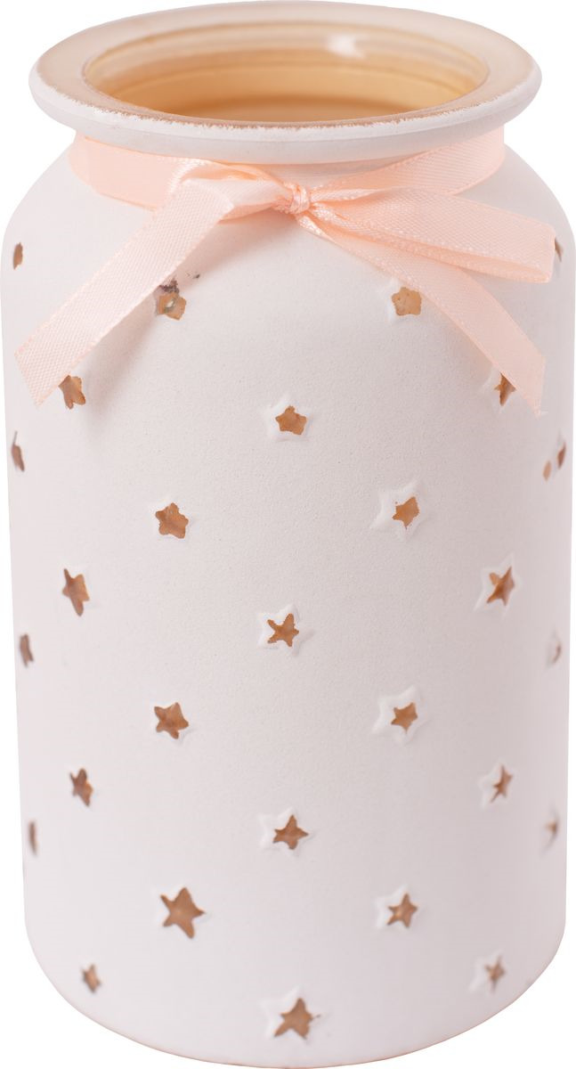 Ваза декоративная Magic Home Кремовая, 79206, белый ваза декоративная magic home объемные цветы 79859 белый
