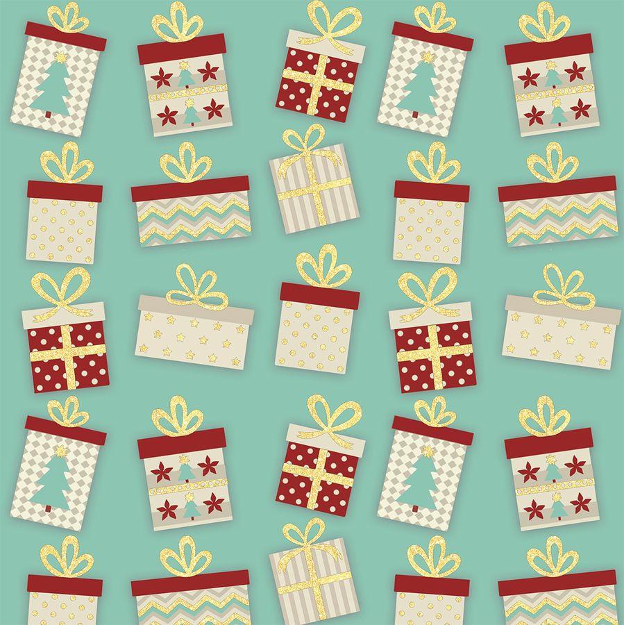 Упаковочная бумага Magic Home Большие Подарки, 79450, мультиколор, 100 х 70 см