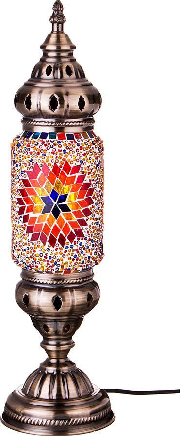 Настольный светильник Lefard, с плафоном, 212-072, цоколь Е14, 5 Вт212-072СВЕТИЛЬНИК НАСТОЛЬНЫЙ 11.5*11.5*40 СМ.220В Е14 5ВТ+ПЛАФОН