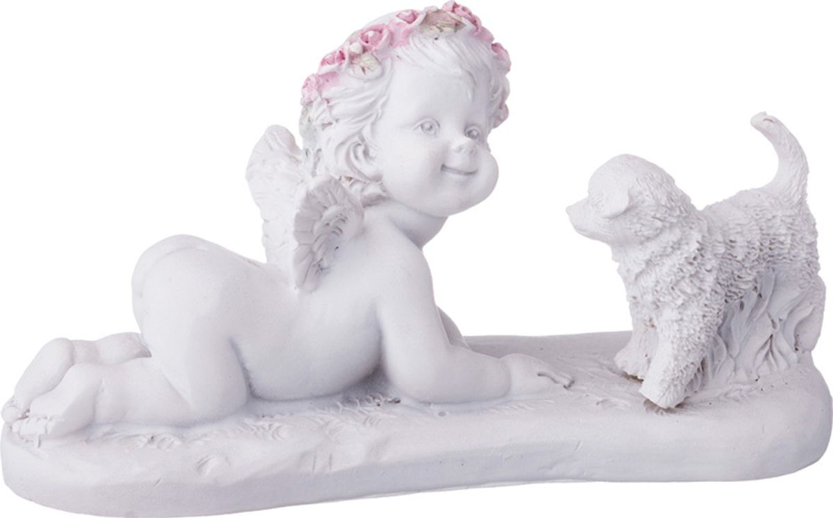 Фигурка декоративная Lefard Amore, 390-1132, 6 х 4 х 11,5 см фигурка декоративная crystocraft петух 4 2 3 1 6 3 см серебро
