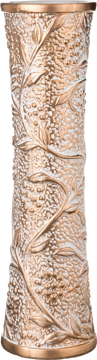 Ваза Lefard Рябина на бежевом, 110-359, 16 х 16 х 60 см loucicentro ваза напольная птицы