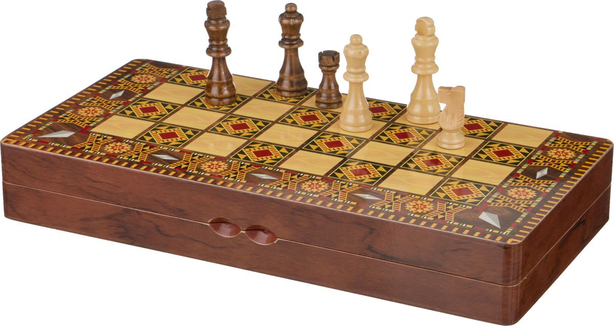 Настольная игра Lefard Шахматы + Шашки + Нарды, 446-114 настольная игра 1toy набор игр шашки шахматы нарды карты на магнитах т52451