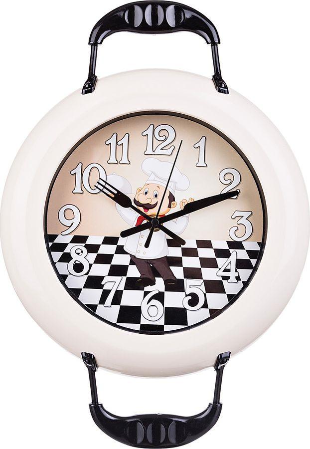 <b>Настенные часы Lefard Chef</b> Kitchen, кварцевые, 220-310, 26 х 4 ...