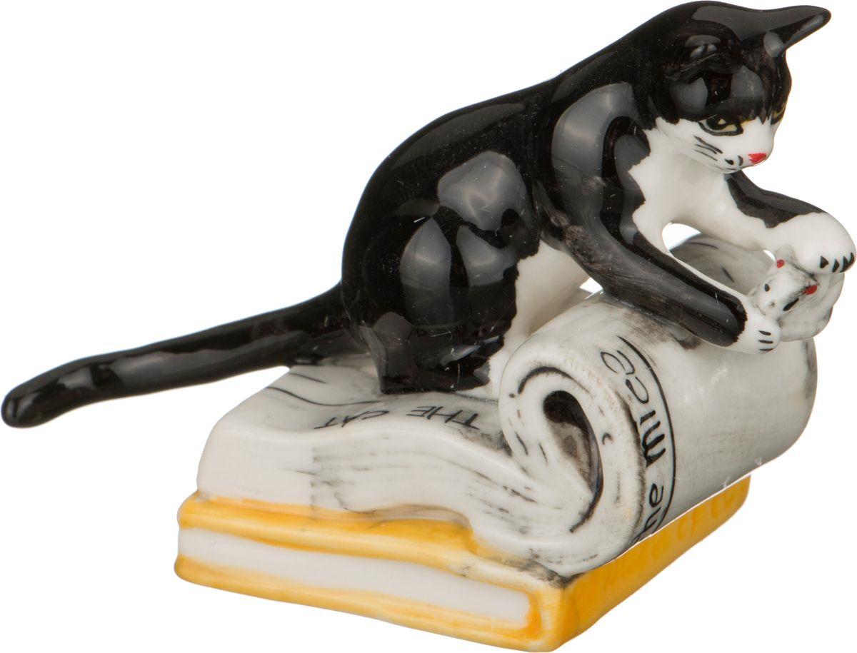 Фигурка декоративная Lefard Кошка, 101-473, 12 х 9 х 6 см цены