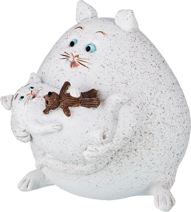 Фигурка декоративная Lefard Кот, 450-730, 7 х 5 х 9,5 см фигурка декоративная lefard йога кот 162 315 5 х 5 х 10 см