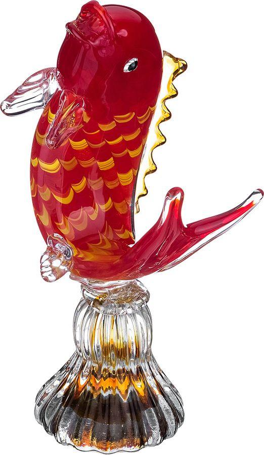 Фигурка декоративная Lefard Золотая Рыбка, 246-171, 14 х 12 х 28 см фигурка декоративная золотая рыбка 3 6 8см уп 1 48шт