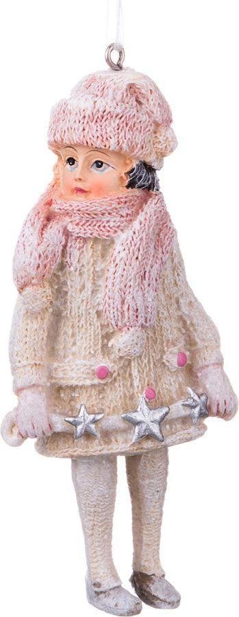 Фигурка декоративная Lefard Новый Год! Девочка, 162-353, 5 х 3,5 х 11 см фигурка декоративная lefard йога кот 162 315 5 х 5 х 10 см