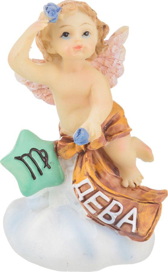 Фигурка декоративная Lefard Знаки Зодиака Знак Зодиака Дева, 390-528, 5 х 4 х 7 см wight angel весы знаки зодиака