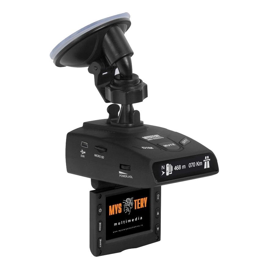 Видеорегистратор с радар-детектором Mystery 4897020617570 видеорегистратор mystery mrd 830hdvs