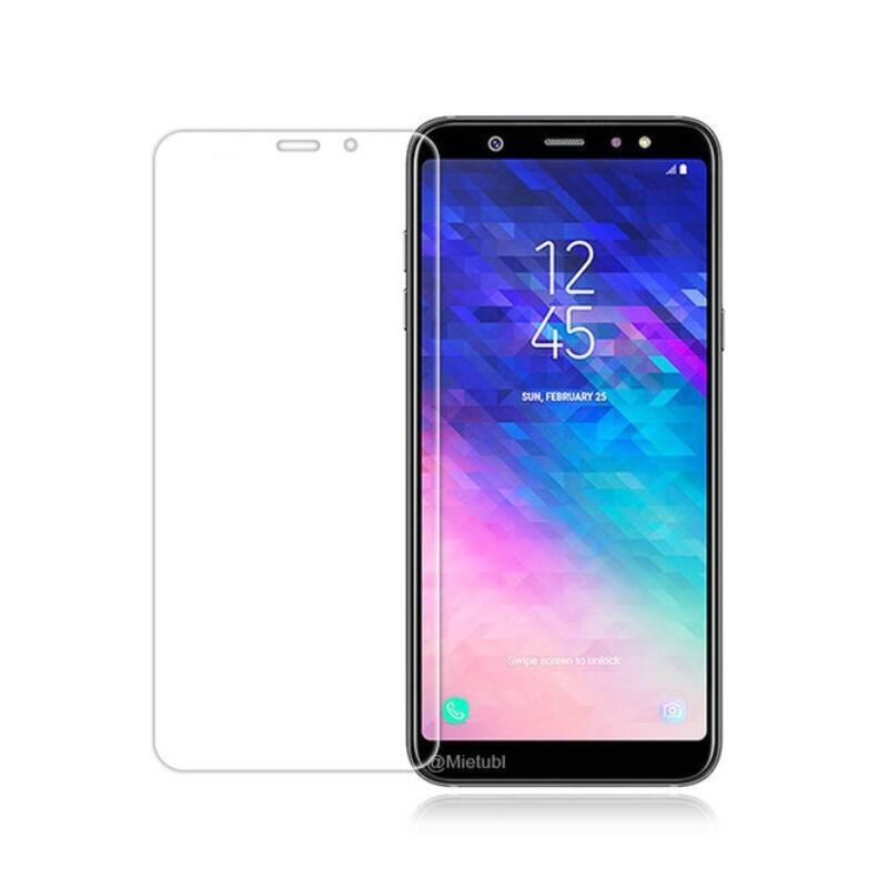 Защитное стекло Защитное закаленное стекло 9H 2.5D для Samsung A6 Plus 2018 A6, прозрачный