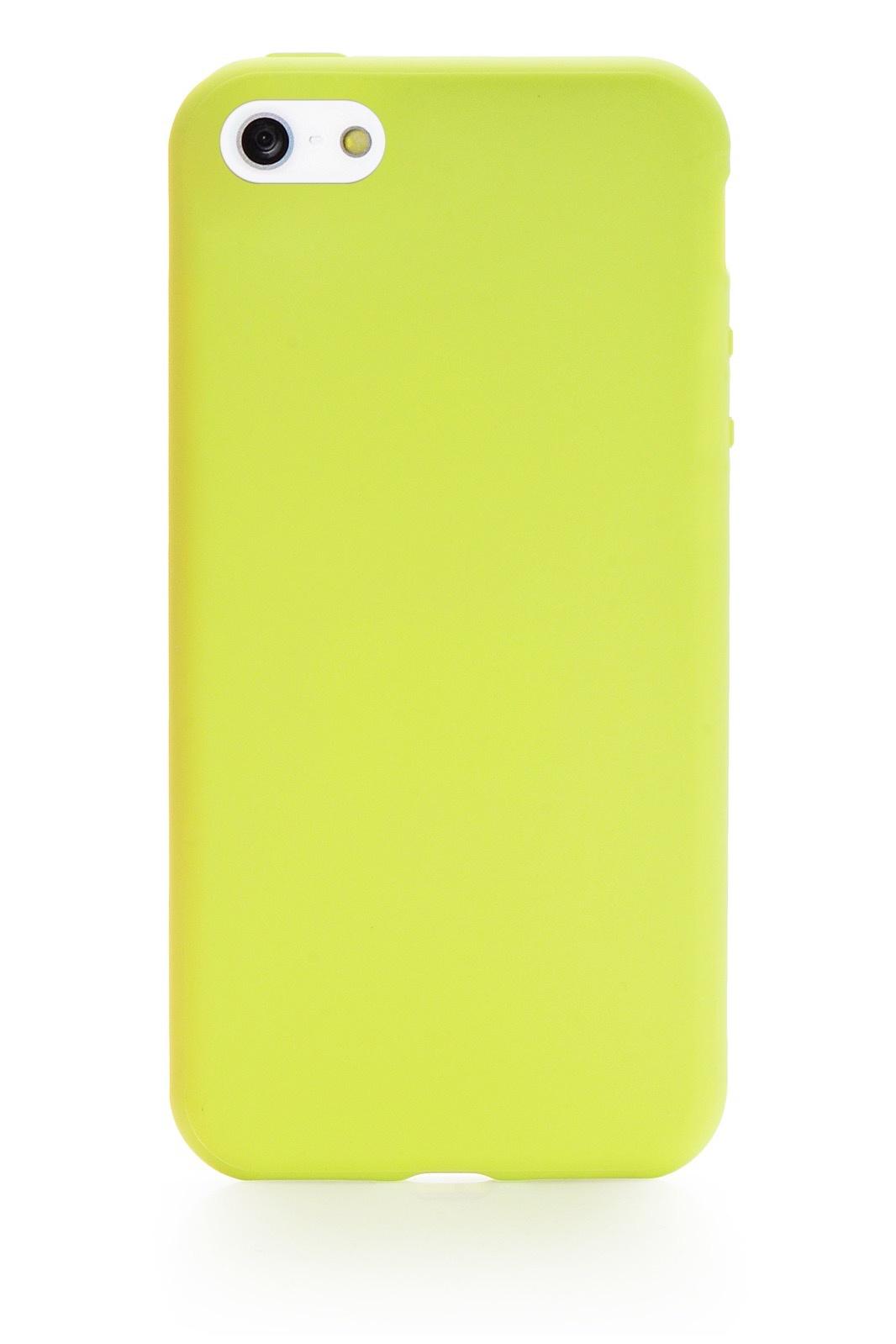 Чехол для сотового телефона Gurdini Soft Lux 902624 для Apple iPhone 5/5S/SE, салатовый