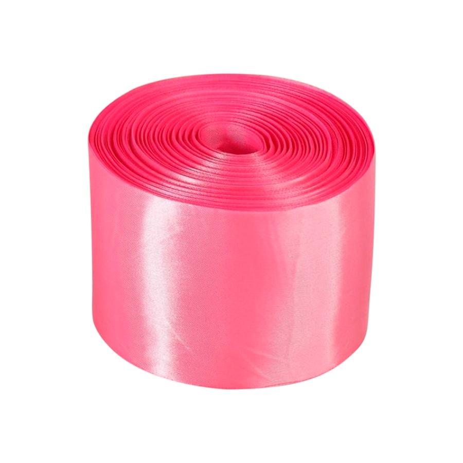 Лента Свадьба атласная, розовая, ширина 10см, длина 98м лента свадьба атласная сиреневая ширина 10см длина 98м