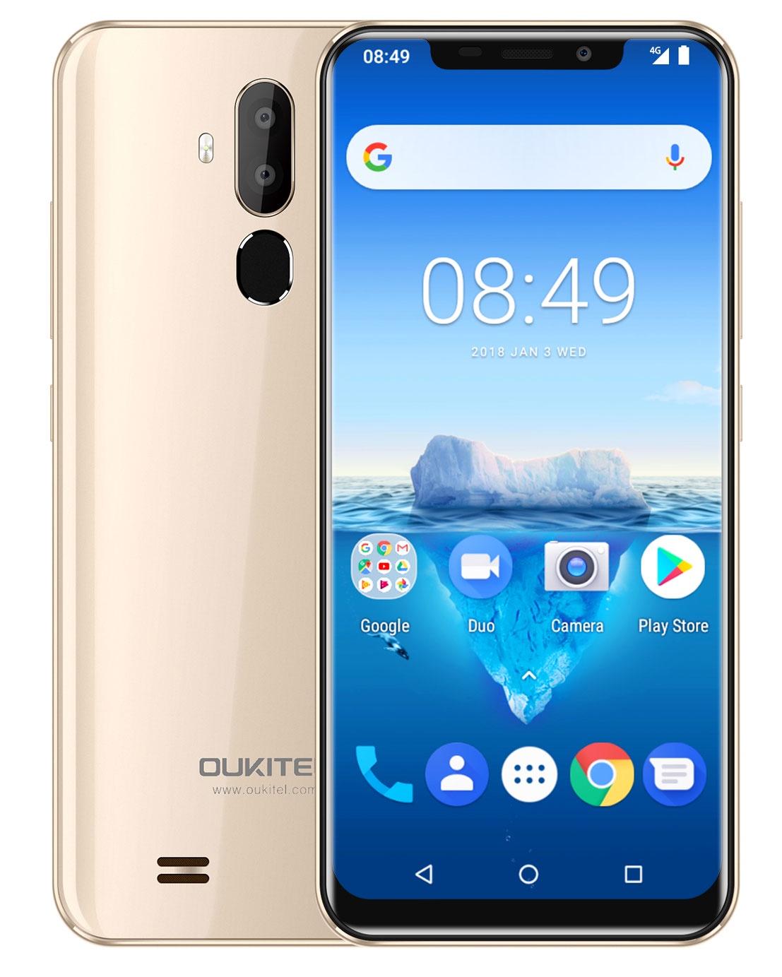 Смартфон OUKITEL C12 Pro, золотой