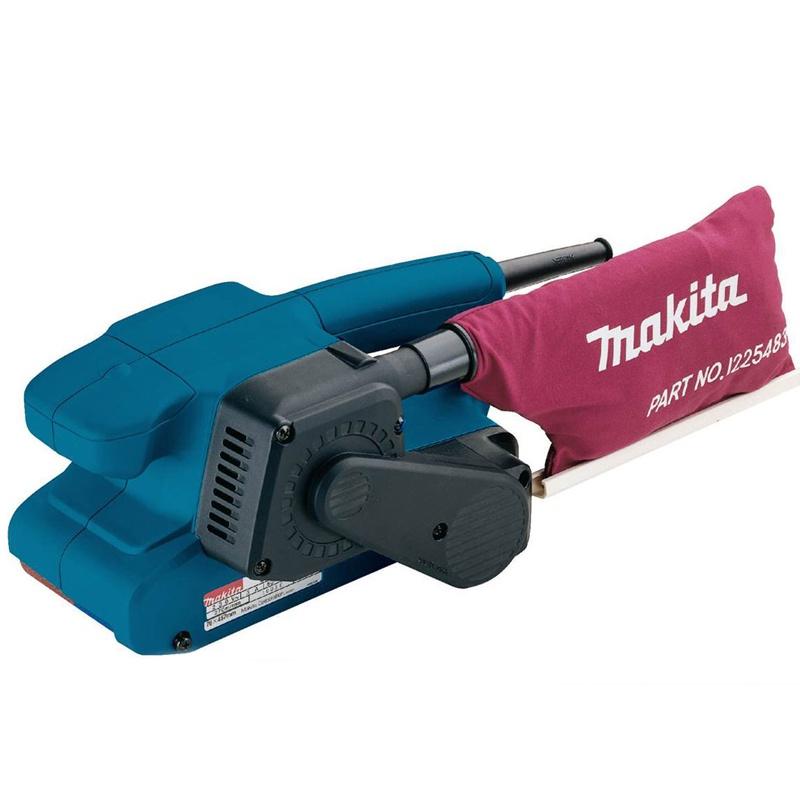 Шлифмашина ленточная Makita 00883810597180088381059718Машина шлифовальная ленточная Makita 9911K. Ключевые характеристики: Название продукта Название продукта: Makita 9911K Бренд: Makita Модель: 9911K Код производителя: 9911K EAN: 88381059718 Основные характеристики Тип: Ленточная шлифовальная машина Минимальная скорость ленты, м/мин: 75 Максимальная скорость ленты, м/мин: 270 Потребляемая мощность, Вт: 650 Длина ленты, мм: 457 Ширина ленты, мм: 76 Дополнительные возможности Комплект поставки: Пылесборник x 1 Регулировки: Регулировка скорости вращения ленты Особенности конструкции: Фиксация кнопки включения Крепление для стационарного использования Электропитание Тип источника питания: Сеть Напряжение сети: 220 В Виброакустические характеристики Уровень звукового давления, дБ: 85 Корпус Цвет корпуса: Синий Габариты и вес Ширина, см: 26.2 Вес, кг: 2.7 Длина сетевого кабеля, м: 2.5 Габариты и вес брутто Тип упаковки: Чемодан Гарантия Страна производитель: Япония Срок гарантии, мес.: 12 .ОПИСАНИЕ. 650Вт;шлифлента 76х457мм;75/270 м/мин;пылесборник;шлиф.лента;кейс;вес 2,7 кг