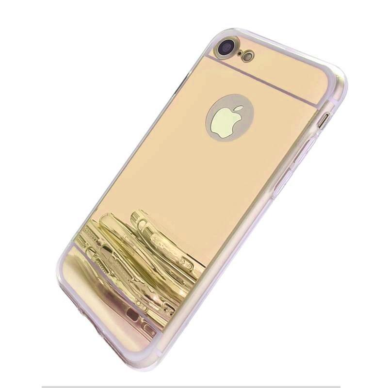 Чехол для сотового телефона No Name Защитный чехол для Apple iPhone 7 6 6s Plus 5 5s 5SE 4 4s, золотой чехол для для мобильных телефонов oem iphone 6 4 7 iphone 6 for iphone 6 4 7inch