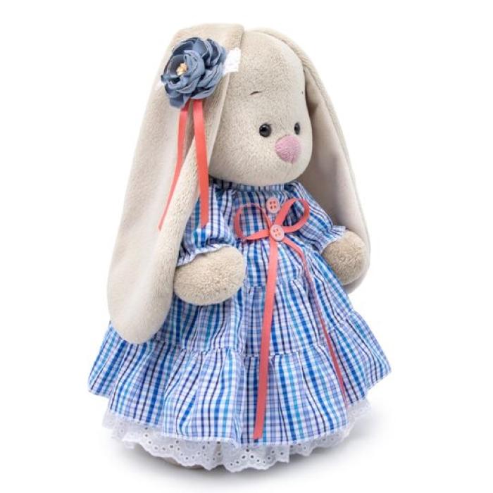 Мягкая игрушка Budi Basa Зайка Ми в платье  стиле Кантри