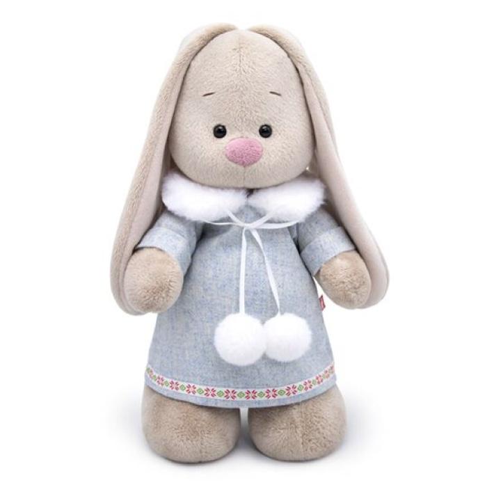 Мягкая игрушка Budi Basa Зайка Ми в трикотажном платье