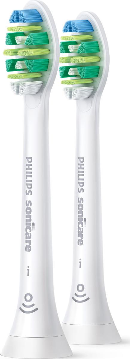 Насадка для электрической зубной щетки Philips Sonicare i InterCare HX9002/10 с функцией BrushSync, белый, 2 шт