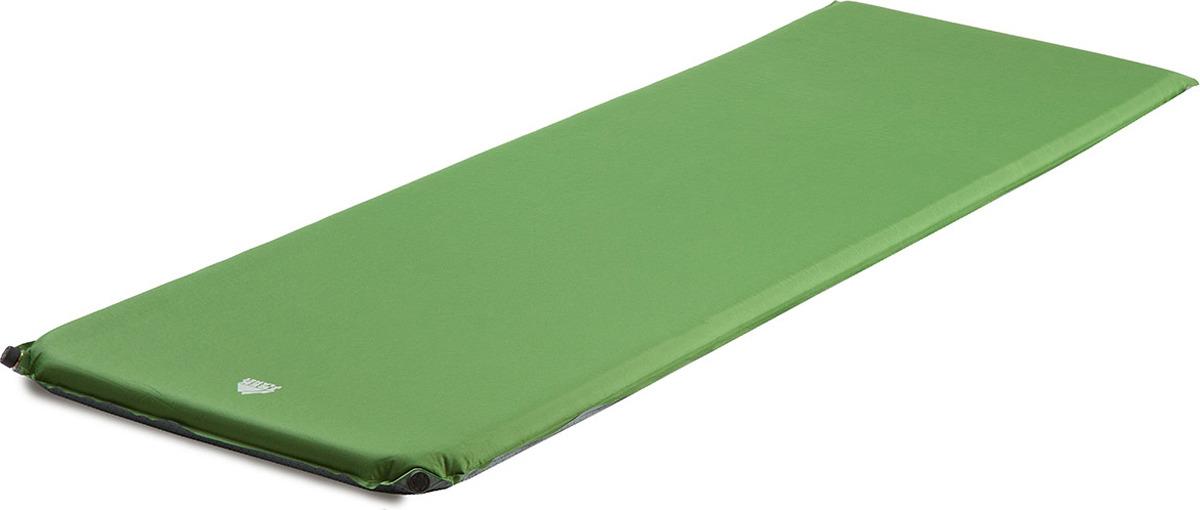 Коврик самонадувающийся Trek Planet Relax 50, кемпинговый, 70430, зеленый, 198 х 63,5 5 см